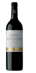 Red wine La Vicalanda Reserva 2005 (0,75)
