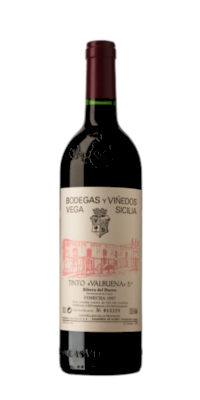 Red wine Valbuena 5º year Reserve 2007 (0,75)