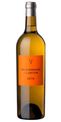 Vino blanco Belondrade & Lurton fermentación en barrica (0,75)