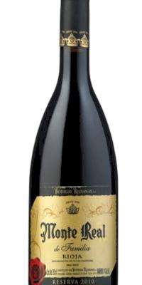 Vino tinto Monte Real Reserva 2011 (0,75)