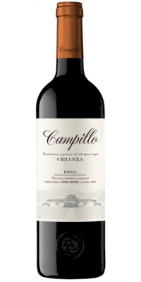 Vino tinto Campillo Crianza 2014 0,75)