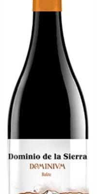 Vino tinto Dominium 14 meses Barrica Rufette 100%/Dominio de la Sierra