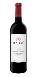 Vino tinto Mauro crianza 2014. Magnum