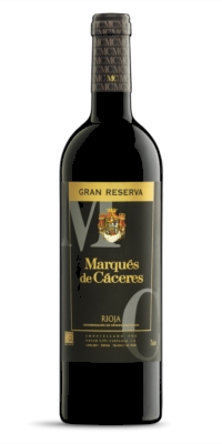 Vino tinto Marqués de Cáceres Gran Reserva