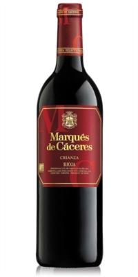 Vino tinto Marqués de Cáceres Crianza (0,75)