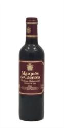 Vino tinto Marqués de Cáceres Crianza 3/8 Medias