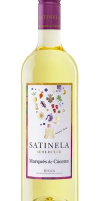 Vino Semi Dulce Satinela Marqués de Cáceres (0,75)