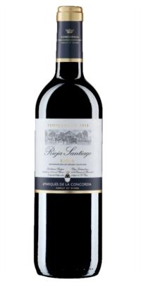 Vino tinto Rioja Santiago Joven 0.75 cl c. 6 un