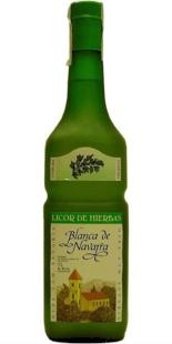 Licor de hierbas Blanca de Navarra 1 lit