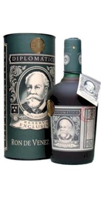 Ron diplomático reserva exclusiva 12 años estuchado